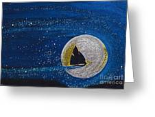 Star Sailing By Jrr Greeting Card by First Star Art