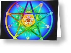Star Sense Creation Greeting Card