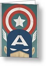 Star-spangled Avenger Greeting Card