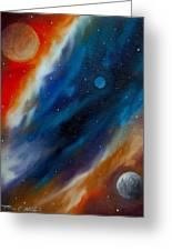 Star System 2034 Greeting Card