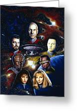 Star Trek Tng Greeting Card