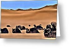 Star Wars Desert Animals Greeting Card
