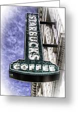 Starbucks - Ballard Greeting Card