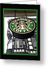 Starbucks Logo Greeting Card