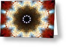 Starburst Galaxy M82 I Greeting Card