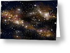 Starfield No.31314 Greeting Card by Marc Ward
