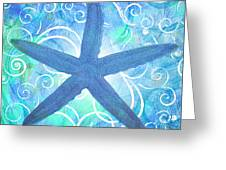 Starfish By Jan Marvin Greeting Card