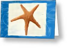Starfish Galore Greeting Card by Lourry Legarde