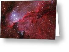 Starforming Emission Nebula Ngc 6188 Greeting Card