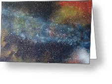 Stargasm Greeting Card by Sean Connolly