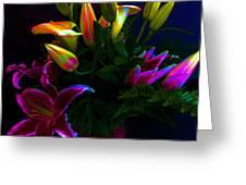Stargazer Bouquet Greeting Card