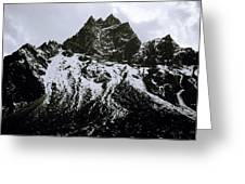 Stark Himalayas Greeting Card