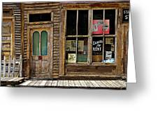 Stark Store And Hotel - Ep Greeting Card