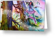 Starr Lynn Holly Berry Fairy Greeting Card