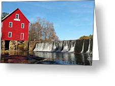 Starr's Mill In Senioa Georgia Greeting Card
