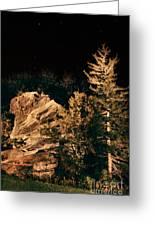 Starry Night In The Blue Ridge Greeting Card