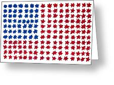 Stars No Stripes Greeting Card
