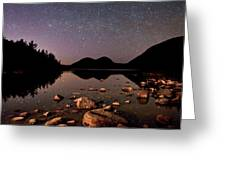 Stars Over The Bubbles Greeting Card by Brent L Ander