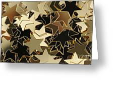 Stars Texture Greeting Card