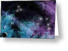 Starscape Nebula Greeting Card