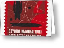 Starschips 02-poststamp - Battlestar Galactica Greeting Card by Chungkong Art