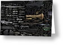 Starships... Greeting Card
