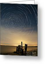 Startrails 2 Greeting Card