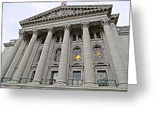 State Capitol Madison Wisconsin Greeting Card