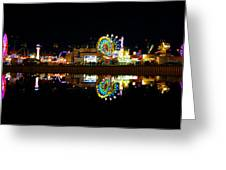 State Fair In Reflection Greeting Card