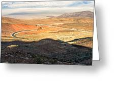 State Highway 190 Greeting Card