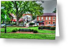 State House Grounds Greeting Card