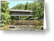 State Road Covered Bridge Greeting Card