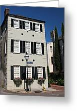 State Street - Charlestons French Quarter Greeting Card