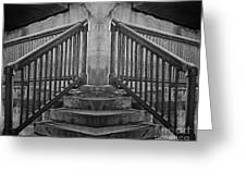 State Street Stairs Greeting Card