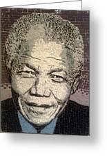 Nelson Mandela Statesman Greeting Card