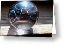 Static Spheres Greeting Card by Jaime Neo