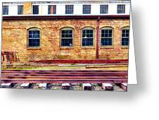 Station House Greeting Card