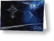 Station In The Stars Greeting Card