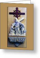 Station Of The Cross 06 Greeting Card