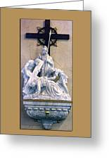 Station Of The Cross 07 Greeting Card
