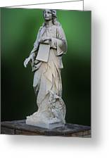 Statue 18 Greeting Card