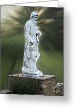 Statue 20 Greeting Card