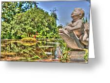 Statue In Brookgreen Gardens Greeting Card