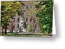 Statue In Germantown Greeting Card