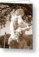 Statue In St Petersburg Greeting Card