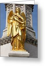 Statue Of Angel2 Greeting Card