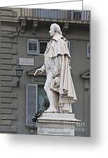 Statue Of Carlo Goldoni Greeting Card