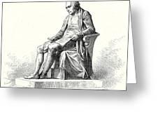 Statue Of James Watt In Westminster Greeting Card