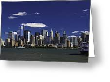 Statue Of Liberty Ferry 2 Greeting Card