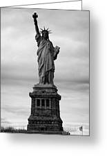 Statue Of Liberty National Monument Liberty Island New York City Usa Nyc Greeting Card